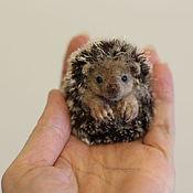 Куклы и игрушки handmade. Livemaster - original item felted baby hedgehog