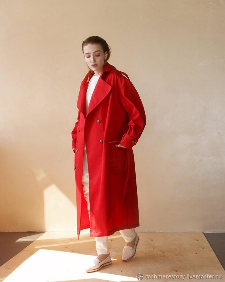Women's oversize Reddy trench coat, Raincoats and Trench Coats, Moscow,  Фото №1