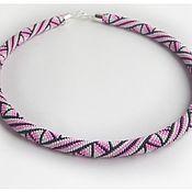 handmade. Livemaster - original item Necklace-harness
