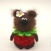 Куклы и игрушки ручной работы. Ярмарка Мастеров - ручная работа Медведь  Ягодка или Котик Ягодка. Handmade.