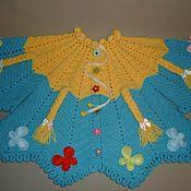 Работы для детей, ручной работы. Ярмарка Мастеров - ручная работа Кофточка детская вязаная «Солнечный день», для девочки. Handmade.