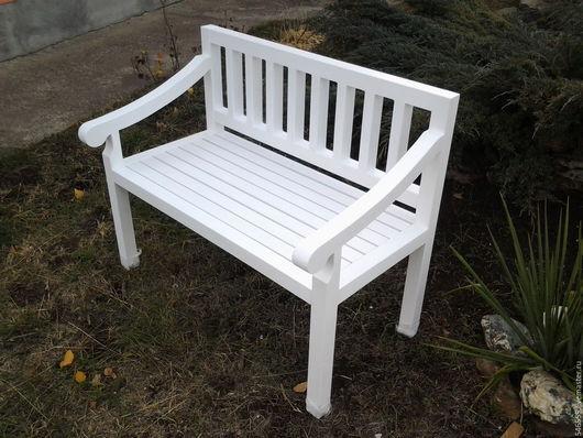 """Мебель ручной работы. Ярмарка Мастеров - ручная работа. Купить Скамейка в стиле """"прованс"""". Handmade. Скамейка прованс, садовая скамейка"""
