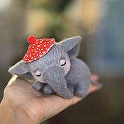 Куклы и игрушки ручной работы. Ярмарка Мастеров - ручная работа В красной шапочке. Handmade.