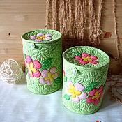 Для дома и интерьера ручной работы. Ярмарка Мастеров - ручная работа Короб текстильный. Handmade.