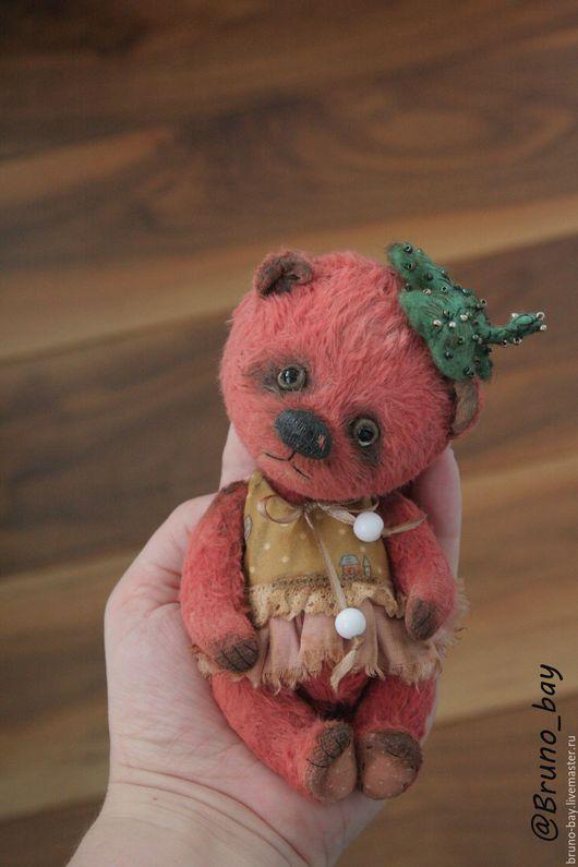 Мишки Тедди ручной работы. Ярмарка Мастеров - ручная работа. Купить Роза. Handmade. Коралловый, teddy, теддик, вискоза 100%
