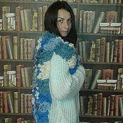 Одежда ручной работы. Ярмарка Мастеров - ручная работа Кардиган цветочный. Handmade.