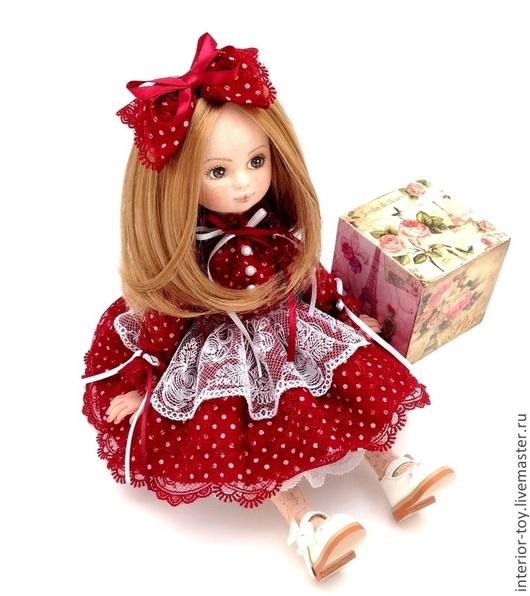 Кукла коллекционная - Катюша. `Лавка Чудес` Анастасия. Ярмарка мастеров.