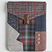 Сумки и аксессуары handmade. Livemaster - original item Apple iPad textile cover-case. Handmade.