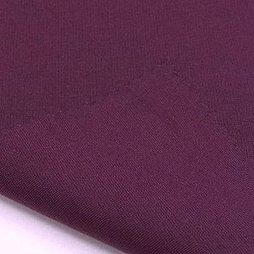 Материалы для творчества ручной работы. Ярмарка Мастеров - ручная работа Ткань натуральная трикотаж джерси сливовый. Handmade.