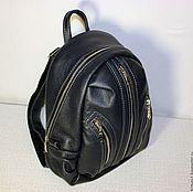 Сумки и аксессуары handmade. Livemaster - original item Backpack leather city 26. Handmade.