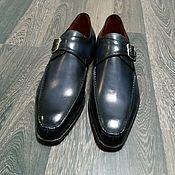 Обувь ручной работы handmade. Livemaster - original item Penny Loafers with buckle, handmade, exclusive shade!. Handmade.