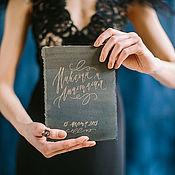 Свадебный салон ручной работы. Ярмарка Мастеров - ручная работа Набор полиграфии в темных тонах. Handmade.