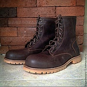 Обувь ручной работы handmade. Livemaster - original item Boots of genuine leather. Handmade.
