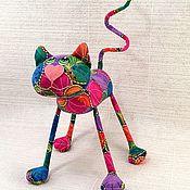 Мягкие игрушки ручной работы. Ярмарка Мастеров - ручная работа Кот листик. Handmade.