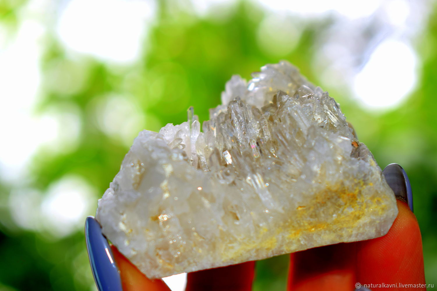 Druze / rock crystal crystals, Minerals, Moscow,  Фото №1