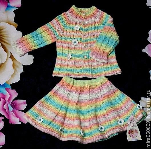 Одежда для девочек, ручной работы. Ярмарка Мастеров - ручная работа. Купить Комплект для девочки на осень зиму весну.. Handmade. Орнамент