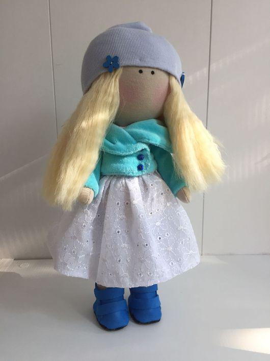 Коллекционные куклы ручной работы. Ярмарка Мастеров - ручная работа. Купить Кукла-блондинка ищет дом. Handmade. текстильная кукла
