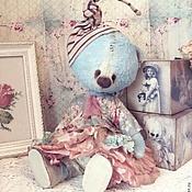 """Мягкие игрушки ручной работы. Ярмарка Мастеров - ручная работа Мишка Мальва Серия """"Шебби"""". Handmade."""