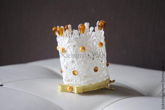 Корона из кружева в золоте, Ксения +7 926 83 65 887 WhatsApp/Viber/sms