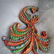 """Подарки к праздникам ручной работы. Ярмарка Мастеров - ручная работа Пряник """"Птица счастья"""". Handmade."""