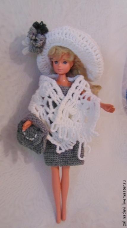 Одежда для кукол ручной работы. Ярмарка Мастеров - ручная работа. Купить ОДЕЖДА ДЛЯ КУКОЛ Barbie, Blythe, Pullip, Moxie Girlz вязаная. Handmade.