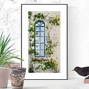 Картины и панно handmade. Livemaster - original item Watercolor Window. Handmade.