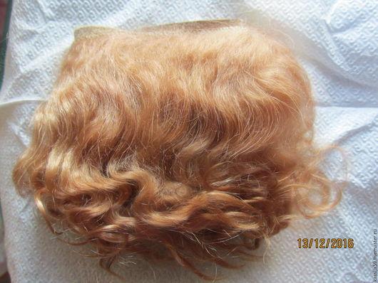Куклы и игрушки ручной работы. Ярмарка Мастеров - ручная работа. Купить волосы для кукол реборн. Handmade. Шкура козы
