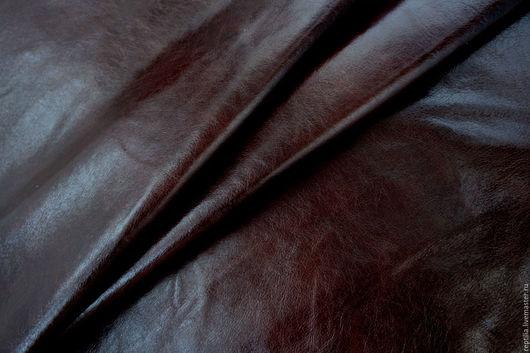 """Шитье ручной работы. Ярмарка Мастеров - ручная работа. Купить Натуральная кожа КРС """"Marmellata di prugne"""". Handmade. Кожа"""