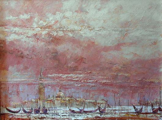 """Город ручной работы. Ярмарка Мастеров - ручная работа. Купить """"Венеция. Предчувствие...  """". Handmade. Венеция, осень, зима, ностальгия"""