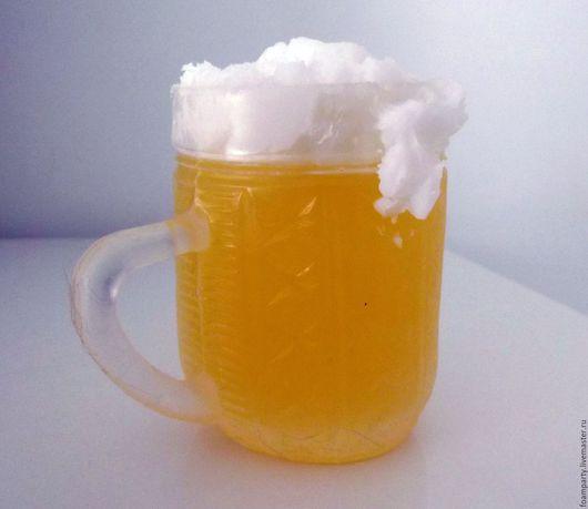 """Мыло ручной работы. Ярмарка Мастеров - ручная работа. Купить Мыло 3D  """"Кружка пива"""". Handmade. Желтый, Пивная кружка"""