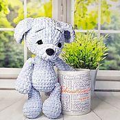 Куклы и игрушки handmade. Livemaster - original item Knitted toy-plush puppy Buddy. Handmade.