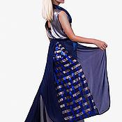 """Одежда ручной работы. Ярмарка Мастеров - ручная работа платье женское серое длинное в пол """"холодное сердце"""". Handmade."""