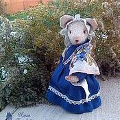 Куклы и игрушки ручной работы. Ярмарка Мастеров - ручная работа Мышка Бетти. Handmade.