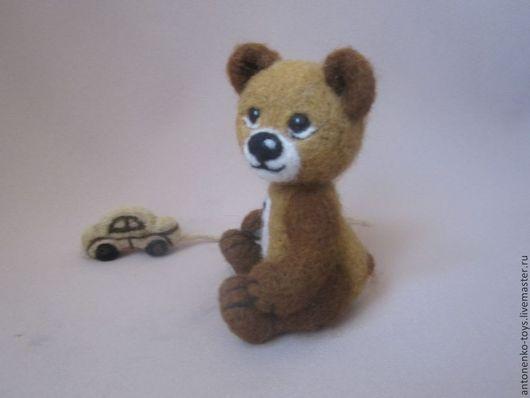 Игрушки животные, ручной работы. Ярмарка Мастеров - ручная работа. Купить Медвежонок Потапыч. Handmade. Медвеженок, мишка ручной работы