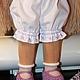 Вальдорфская игрушка ручной работы. Сиреневый цветок-3, 36см,  вальдорфская кукла. Лариса Ломакова (larisalomakova). Ярмарка Мастеров.