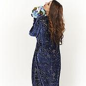 """Платья ручной работы. Ярмарка Мастеров - ручная работа Платье """"Синий вечер"""". Handmade."""