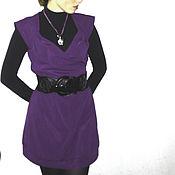 Одежда ручной работы. Ярмарка Мастеров - ручная работа Платье из плотного трикотажа. Handmade.