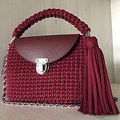 handmade. Livemaster - original item T-yarn bag