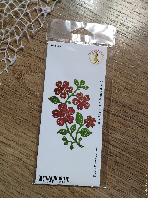 !KNIFE for cutting Cheery Lynn Designs cherry blossoms, Scrapbooking Tools, Mytishchi,  Фото №1
