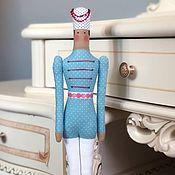 Куклы и игрушки handmade. Livemaster - original item Doll Tilda: THE STEADFAST TIN SOLDIER. Handmade.