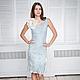 Felted dress bodycon 'Shabby denim'. Dresses. lenabaymut (Baymut). Online shopping on My Livemaster.  Фото №2