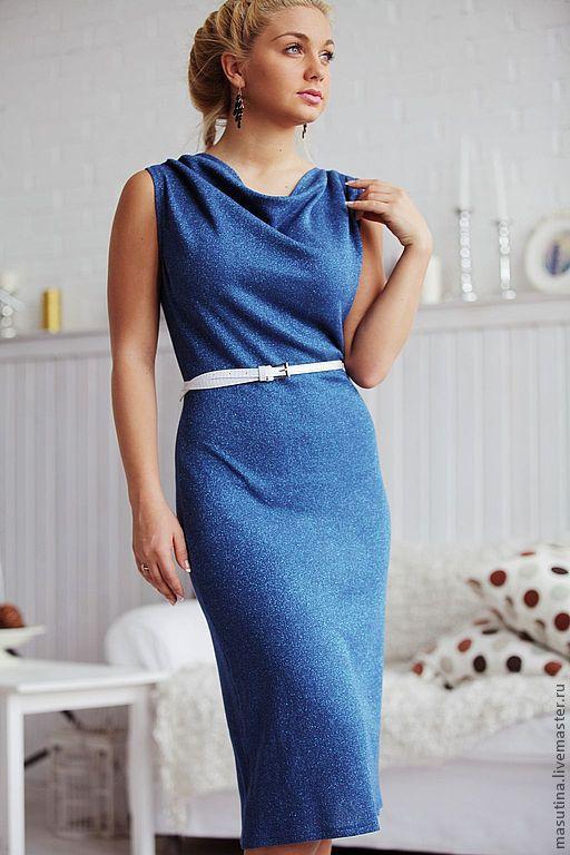 """Платья ручной работы. Ярмарка Мастеров - ручная работа. Купить Платье """"Blumarine"""". Handmade. Голубой, нарядное платье"""