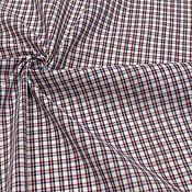 Ткани ручной работы. Ярмарка Мастеров - ручная работа Ткань хлопок сорочечный клетка. Handmade.