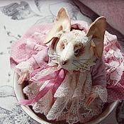 Куклы и игрушки ручной работы. Ярмарка Мастеров - ручная работа Мышка Сонечка.. Handmade.