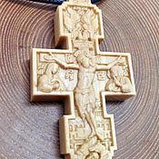 Украшения handmade. Livemaster - original item Orthodox crucifix. Handmade.