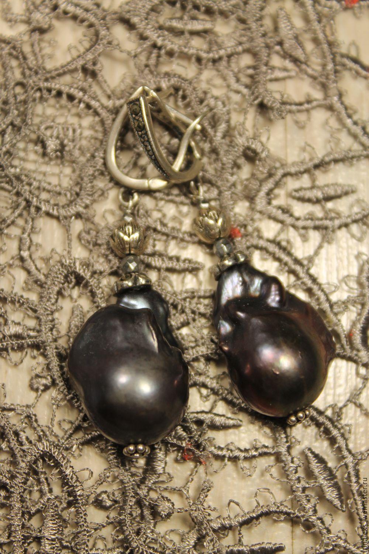 Earrings 'The Bud' 4, Earrings, Nizhny Novgorod,  Фото №1