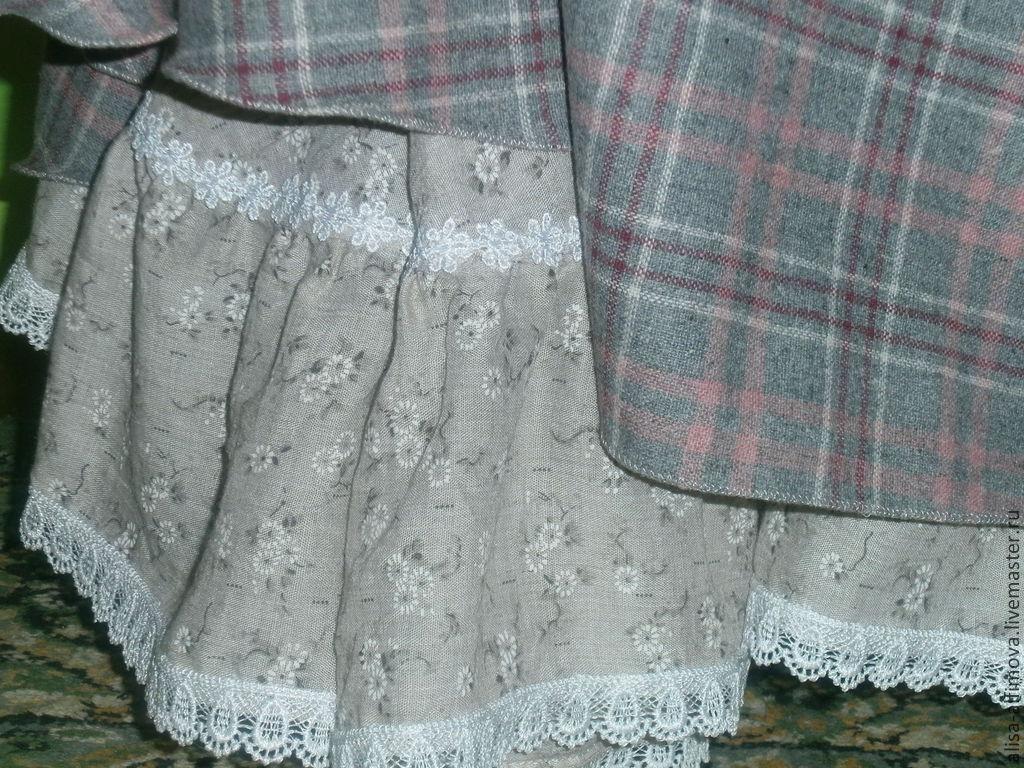 Как сшить теплую юбку мастер класс