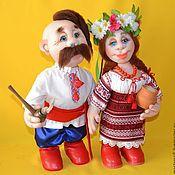 Куклы и игрушки handmade. Livemaster - original item Dolls in Ukrainian style. Dolls in the art of sculptural textiles.. Handmade.