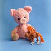 Куклы и игрушки ручной работы. Ярмарка Мастеров - ручная работа поросенок Даня. Handmade.