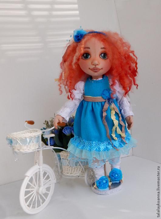 Коллекционные куклы ручной работы. Ярмарка Мастеров - ручная работа. Купить Ангелина. Текстильная игровая кукла.. Handmade. Рыжий